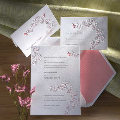 Ambrosia Wedding Invitation