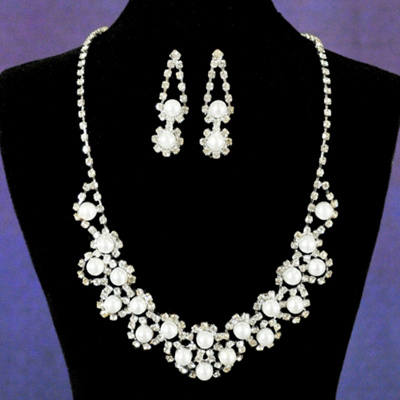 Amelia Necklace and Earring Set