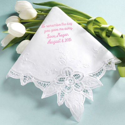 Battenburg Lace Mothers Hanky