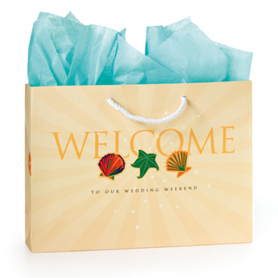 Wedding Gift Bags Beach Theme : Beach Wedding Welcome Bag Beach Welcome Bag