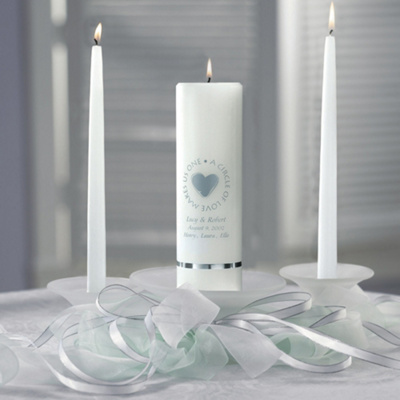 Blended Family Wedding Unity Candle