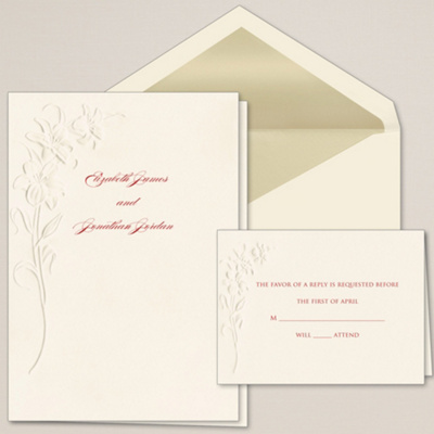 Blooming Beauty Wedding Invitation