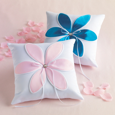 Blossom Ring Pillow