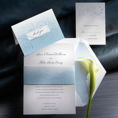 Boca Wedding Invitation