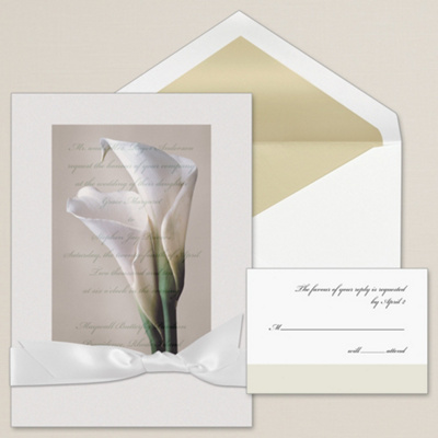 Bridal Bliss Wedding Invitation