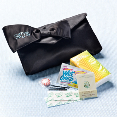 Bridesmaids Survival Kit Clutch