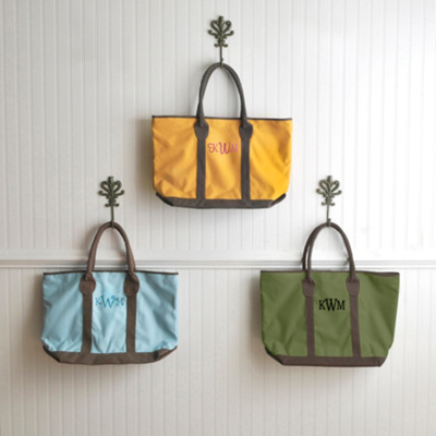 Canvas Carry-All Tote