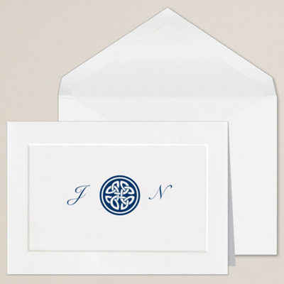 Celtic Knot Thank You Note