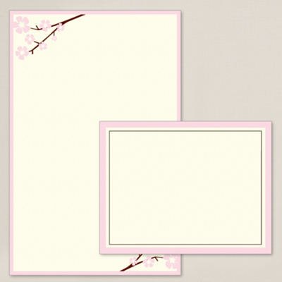 Cherry Bloom DIY Invitation Kit