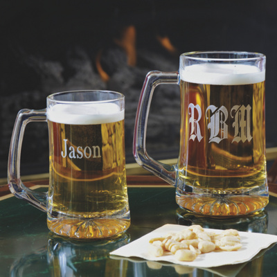 Personalized Beer Mug for Groomsmen
