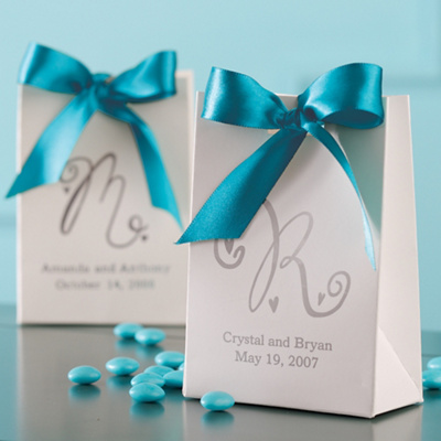 Classic Tote Wedding Favor Box