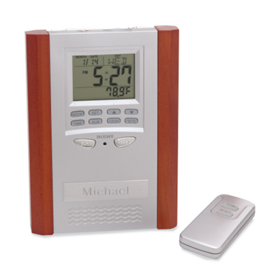 desktop radio alarm clock with remote. Black Bedroom Furniture Sets. Home Design Ideas