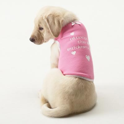 Always A Bridesmaid Dog Shirt