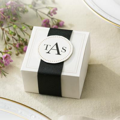 Wedding Gift Box Favors : Elegant Ivory Wedding Favor Box Kits Wedding Favors