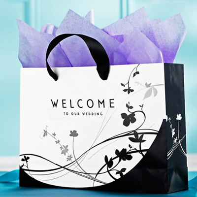 Floral Wedding Welcome Bags
