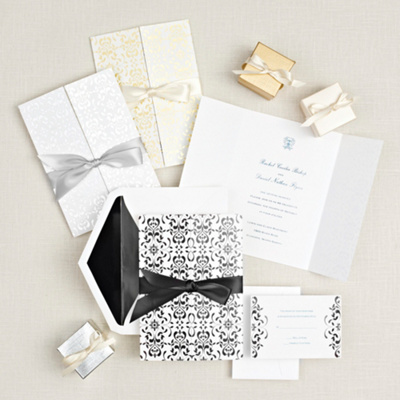 Filigree Elegance Wedding Invitation
