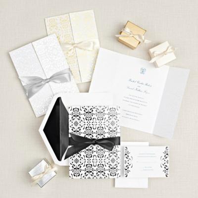 Filigree Elegance Wedding Invitation