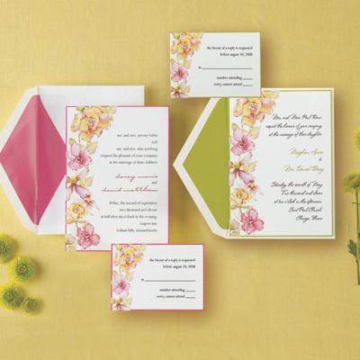 Garden Romance Wedding Invitation