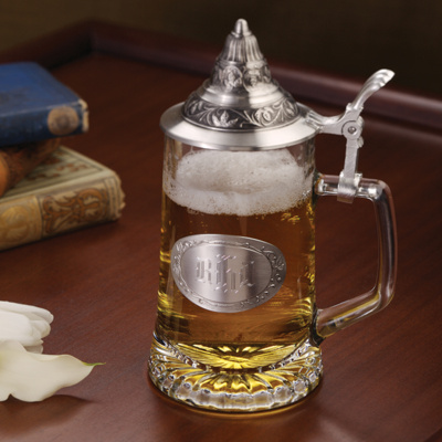Personalized German Stein for Groomsmen