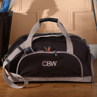 Personalized Duffle Bag for Groomsmen