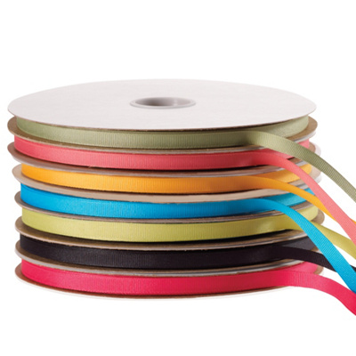 "3/8"" Grosgrain Ribbon 100 Yard Roll"