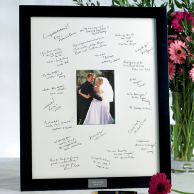Wedding Guest Book Frame