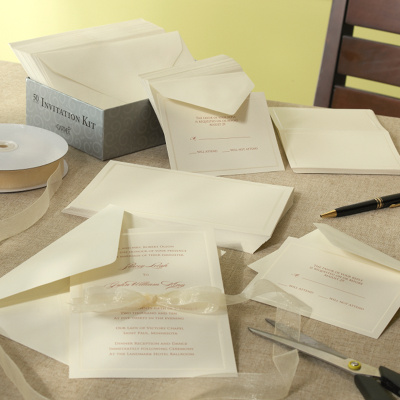 Hartford DIY Wedding Invitation Kit