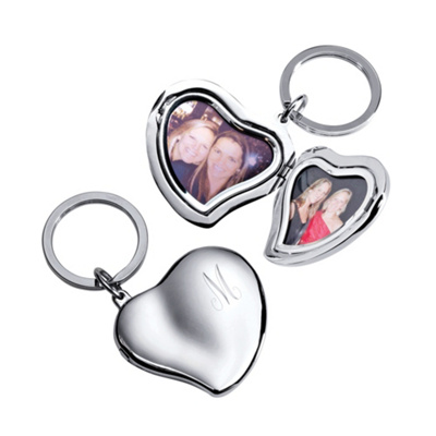 Heart Locket Key Chain