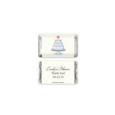 Hersheys wedding cake mini chocolate bars personalized favor 166