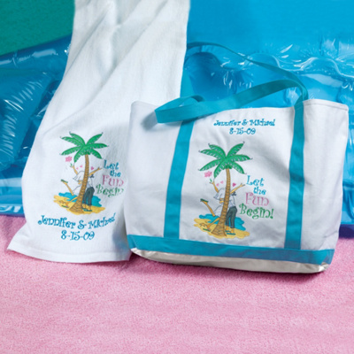 Honeymoon Beach Towel and Tote