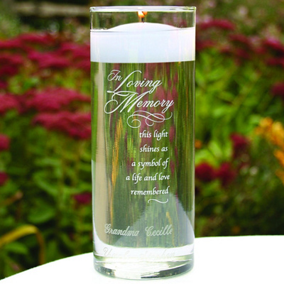 &#34;In Loving Memory&#34; Memorial Cylinder