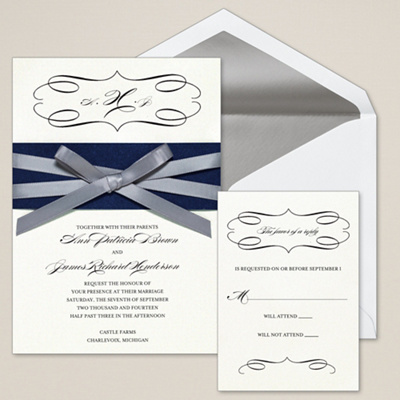 Milan Bride Wedding Invitation