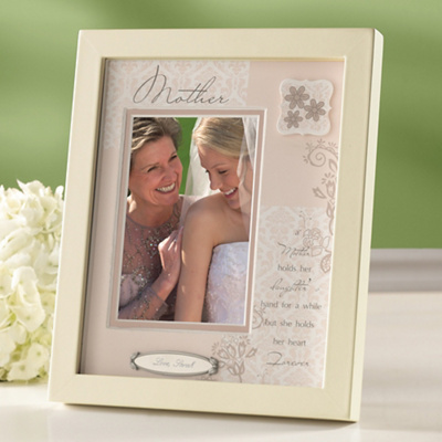Personalized Shadow Box Frame for the Mother of the Bride