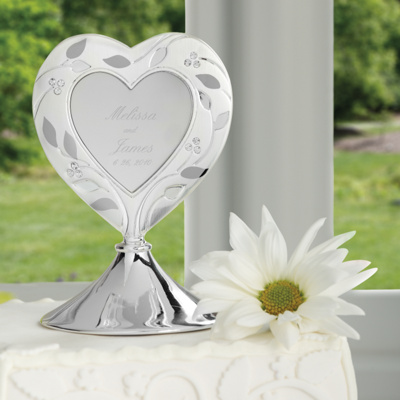 Natures Love Wedding Cake Topper