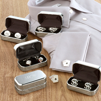 Novelty Cufflinks for Groomsmen