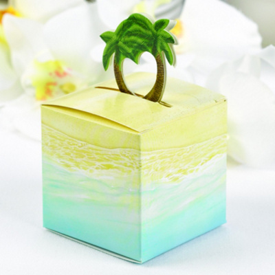 Palm Tree Pop-Up Favor Boxes (Pack of 25)