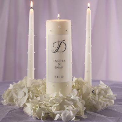 Pearl Wedding Unity Candle