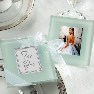 Photo Frame Coaster Wedding Favor