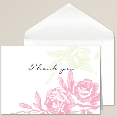 Regal Roses Thank You Note