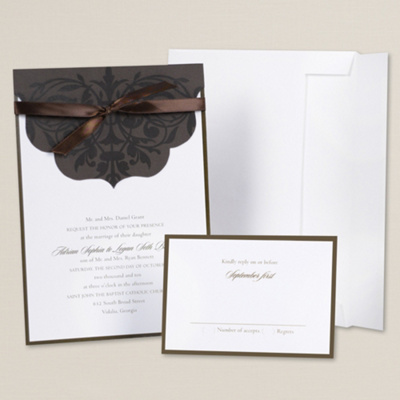Scalloped Sophistication DIY Invitation Kit