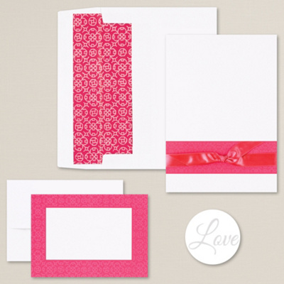 Scroll Beauty DIY Invitation Kit