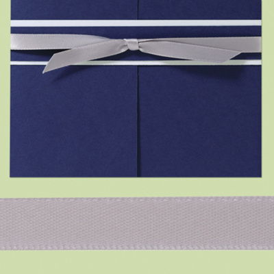 "3/8"" Pre-Cut Satin Ribbon (18-5/8"" long)"