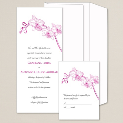 Orchid Wedding Invitations absolutely amazing ideas for your invitation example