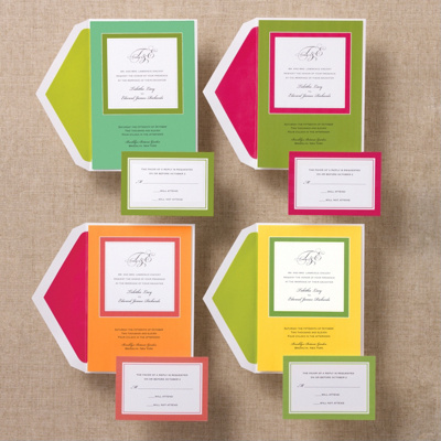 Solid Love Wedding Invitation