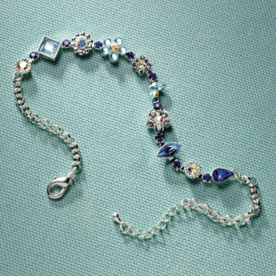 Something Blue Anklet for the Bride