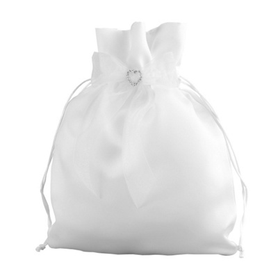 Sparkling Hearts Bridal Money Bag