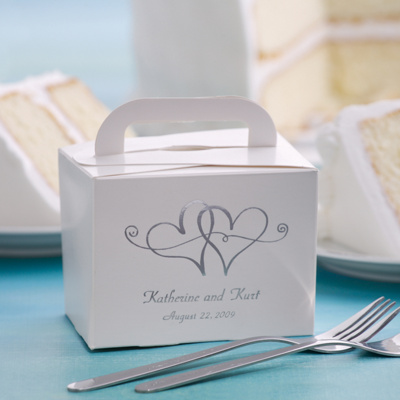 Take-Home Wedding Cake Boxes