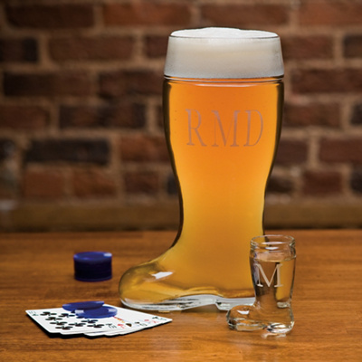 Personalized Groomsmen Boot Mug