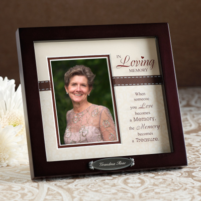 Personalized In Memory Of Wedding Frame