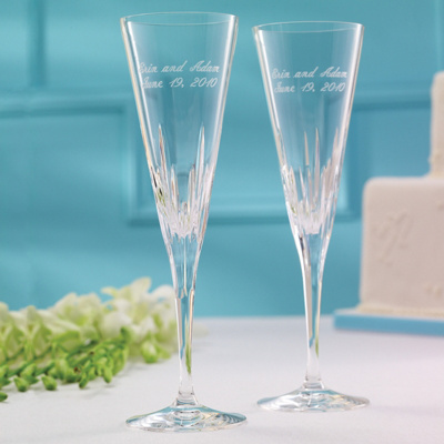"Vera Wang ""Duchesse"" Wedding Toasting Flutes"